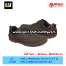 Caterpillar Abilene Dark Brown – Sepatu Caterpillar Murah