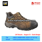 CAT Boots Argon Ct Dark Beige – Sepatu Caterpillar Indonesia