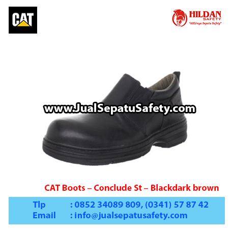 CAT Boots – Conclude St – Blackdark brown