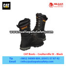 CAT Boots Coulterville St Black Mining Boot – Sepatu Caterillar Indonesia