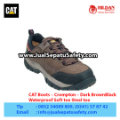 CAT Boots Crompton St Black – Sepatu Caterpillar Murah