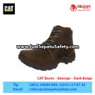 CAT Boots Emerge Dark Beige – Sepatu Caterpillar Jakarta