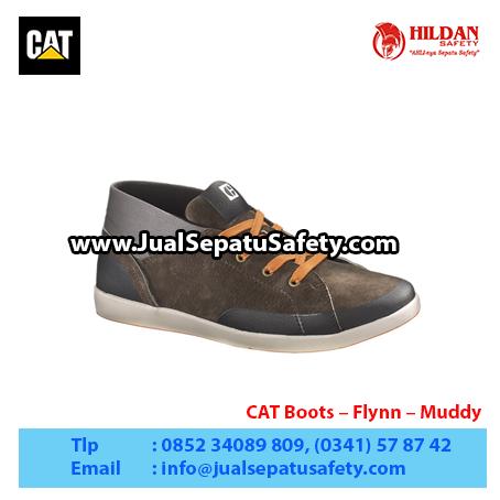 CAT Boots – Flynn – Muddy1