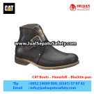 CAT Boots Haverhill Black – Sepatu Caterpillar Malang