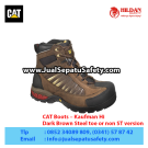 CAT Boots Kaufman HI ST Dark Brown – Sepatu Caterpillar