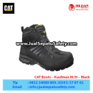 CAT Boots Kaufman HI ST Black – Sepatu Caterpillar