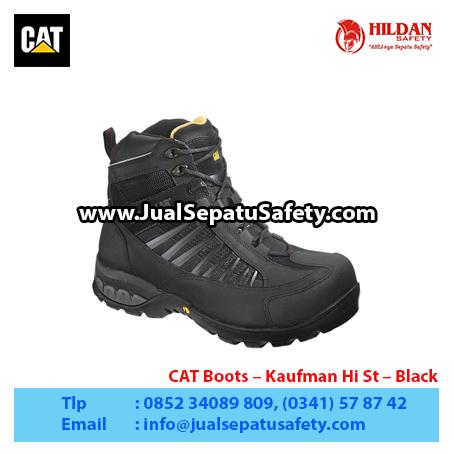 CAT Boots – Kaufman Hi St – Black