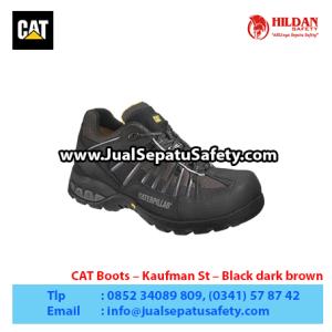 CAT Boots – Kaufman St – Black dark brown1