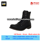 CAT Boots Orson Black – Sepatu Caterpillar Jawa Timur