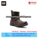 CAT Boots Phantom Brown – Sepatu Caterpillar Jakarta
