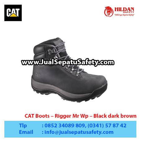 CAT Boots – Rigger Mr Wp – Black dark brown