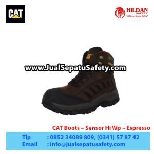 CAT Boots – Sensor Hi Wp – Espresso