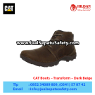 CAT Boots Transform Dark Beige – Sepatu Caterpillar