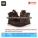 CAT Boots Alloy Black – Sepatu Caterpillar Murah