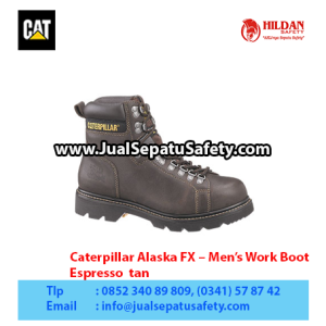 Caterpillar Alaska FX – Men's Work Boot – Espresso  tan copy1