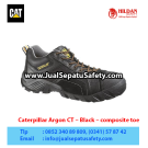 Caterpillar Argon Composite Toe Black Work Boots – Jual Sepatu Caterpillar