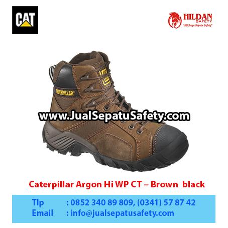 Caterpillar Argon Hi WP CT – Brown black