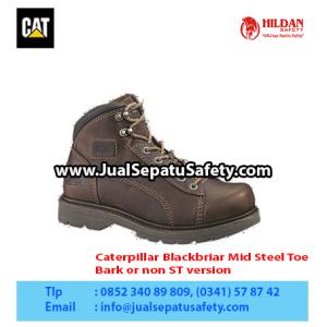 Caterpillar Blackbriar Mid Steel Toe – Men's Work Boot – Bark or non ST version