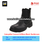 Caterpillar Consort St Mens Black – Sepatu Caterpillar Murah