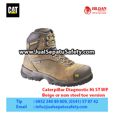 Caterpillar Diagnostic Hi ST WP – Beige or non steel toe version