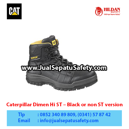 Caterpillar Dimen Hi ST – Men's Work Boot – Black or non ST version