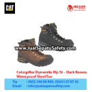 CAT Boots Dynamite Wp St Dark Brown – Sepatu Caterpillar Indonesia