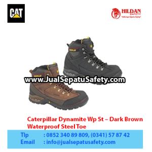 Caterpillar Dynamite Wp St – Dark Brown – Waterproof Steel Toe