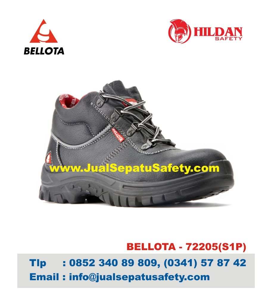 Sepatu Bellota 72205 S1P Safety Shoes