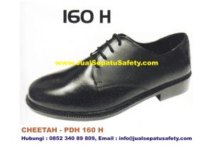 Sepatu Kerja PDH CHEETAH 160 H Pendek Bertali