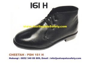 Sepatu Kerja PDH CHEETAH 161 H Semi Boot Bertali