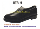 Sepatu Kerja PDH CHEETAH 163 H Formal Pendek Tanpa Tali