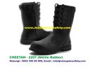 Sepatu Safety Shoes CHEETAH 2207 Boot Bertali dan Resleting PDL Nitrile Rubber