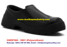 Sepatu Safety Shoes CHEETAH 3001 H Pendek Elastic Slip On