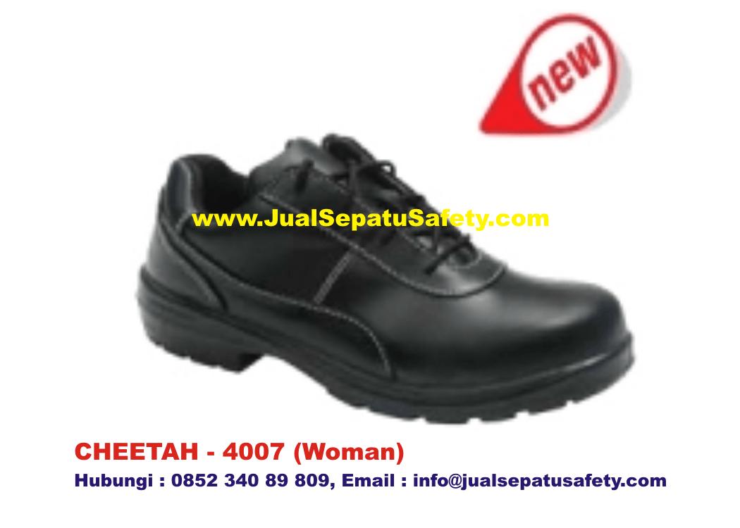 Gudang Supplier Utama Safety Shoes CHEETAH 4007