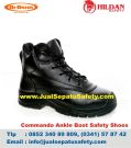 DR.OSHA Commando Ankle Boot PU – Safety Shoes Malang MURAH