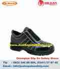 DR.OSHA Champion Slip On Rubber-PU – Sepatu Safety Original Terbaik