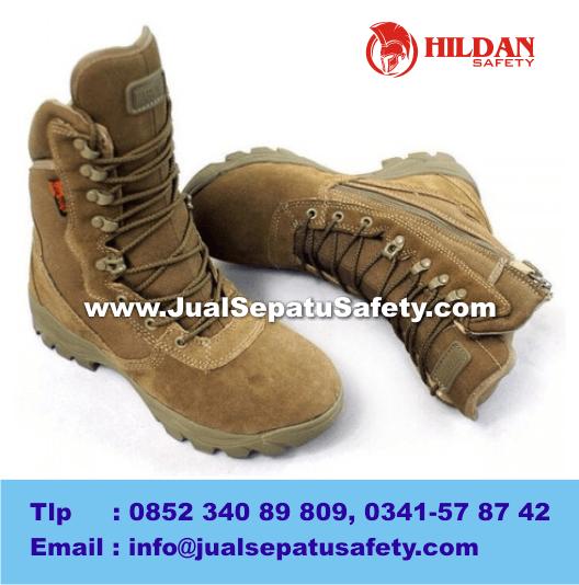 GROSIR Sepatu PRIA Outdoor DELTA Tactical Boots 8.1 TAN