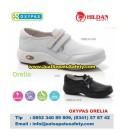 OXYPAS ORELIA, Sepatu Kulit Felcro Untuk Perawat