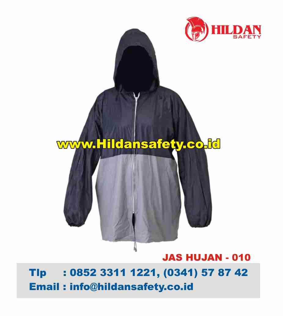 RC.010, Jas Hujan Aman Hitam Abu-Abu