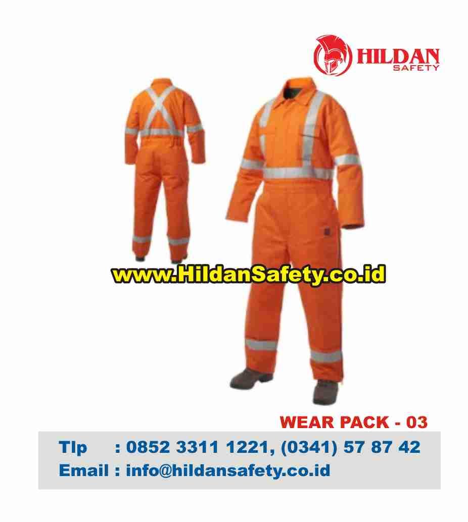 WP.003, Wear Pack Safety Orange