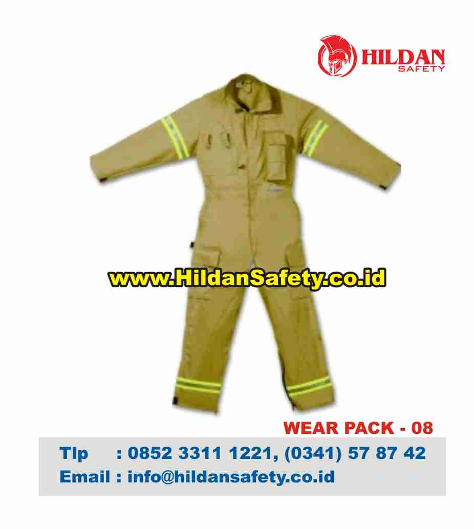 WP.008, Wearpack Coverall Coklat
