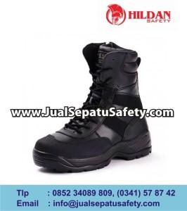 tactical boots - black