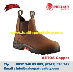 Sepatu Safety Shoes AETOS COPPER 813012