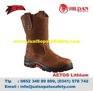 Sepatu Safety Shoes AETOS LITHIUM 813015 Mocca