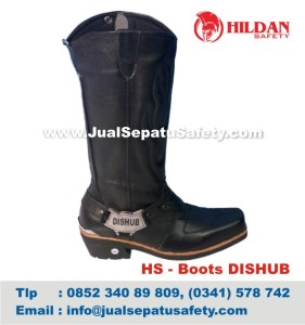 HS - Boots DISHUB, Jual Sepatu PDL PDH Dinas Perhubungan