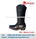 HS-Boots LLAJ, HARGA Sepatu Boots Kulit Murah