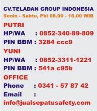 Contact JualSepatuSafety.com Juni 2015