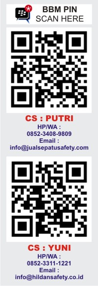 JualSepatuSafety.com, BBM PIN Scan Here