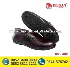 Safety Shoes Pendek Tanpa Tali DR 402