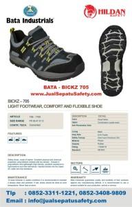 Deskripsi Sepatu Safety Shoes BATA BICKZ 705